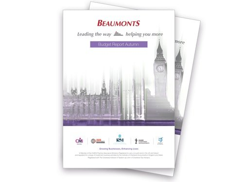 Budget Report | Beaumonts  Chartered Accountants | Wakefield